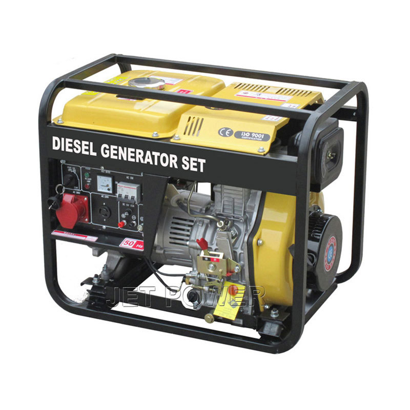 Open type Air Cooled Diesel Generator Set