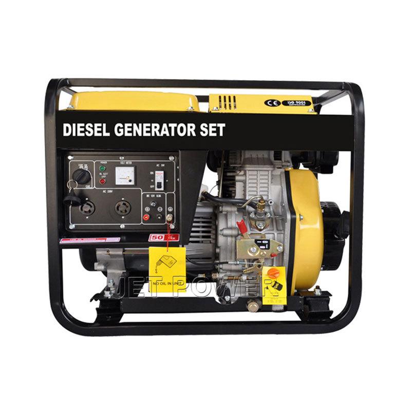 Open type Air Cooled Diesel Generator Set
