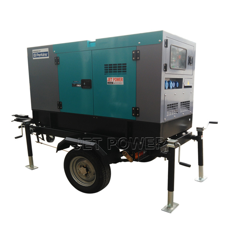 2 Or 4 Wheels Mobile Diesel Trailer Generator Wholesale