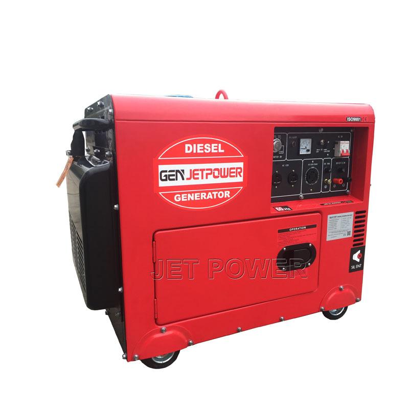 Silent type Air Cooled Diesel Generator Set