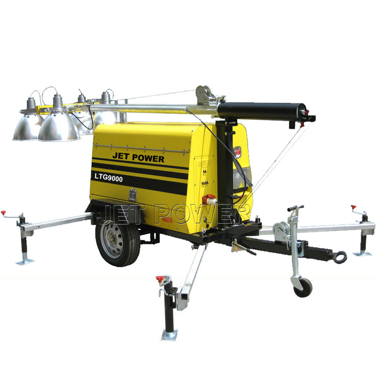 Wholesale Mobile Light Tower Generator Set Supply