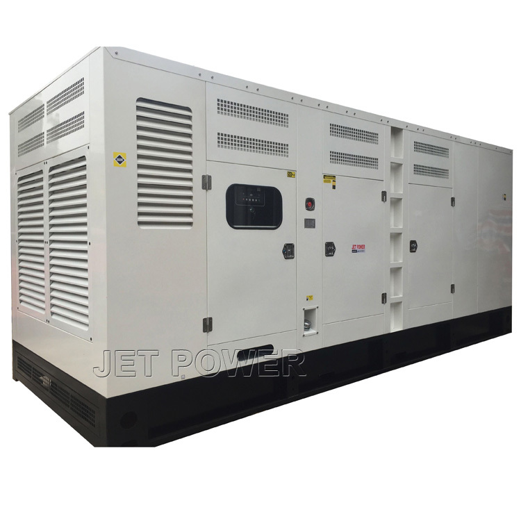 Soundproof Water Cooled MITSUBISHI Diesel Generator Set