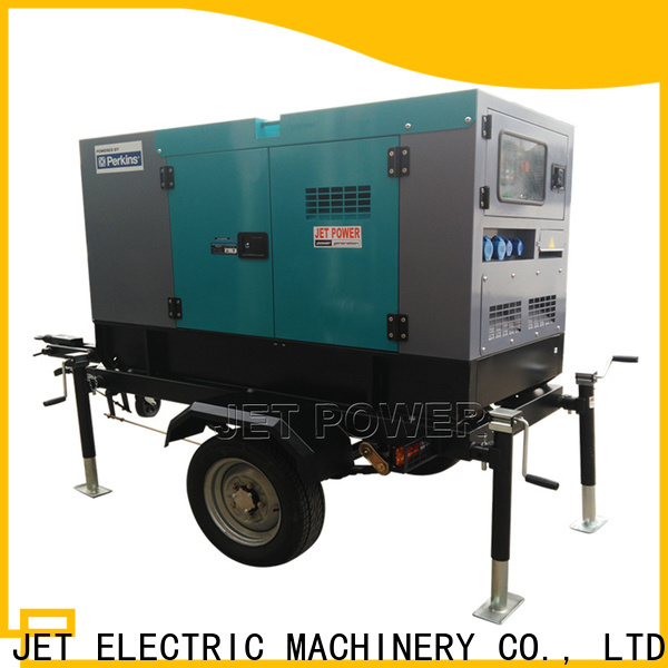 Jet Power factory price diesel trailer generator manufacturers for electrical power