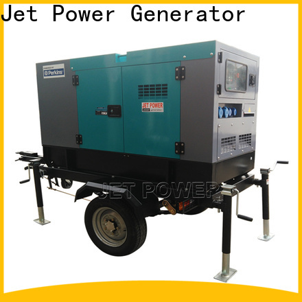 Jet Power excellent mobile diesel generator factory for business