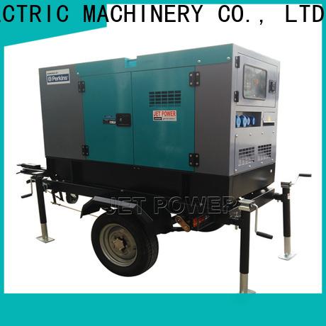 Jet Power mobile diesel generator company for lighting