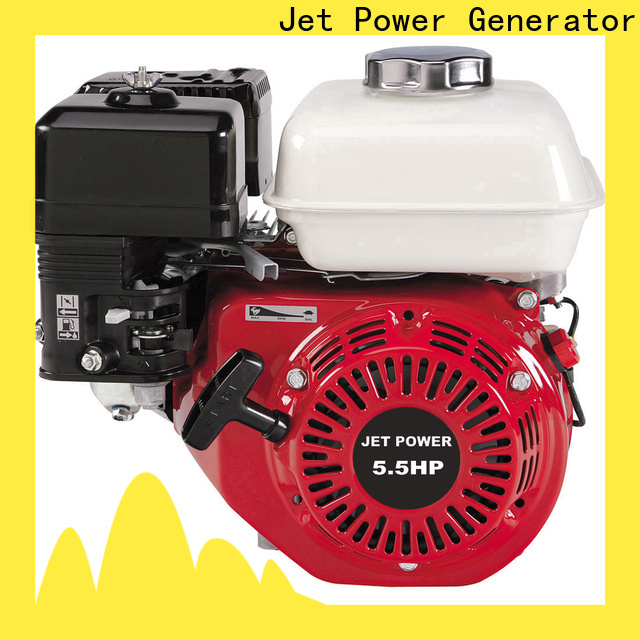 Jet Power gasoline powered engine supply for electrical power