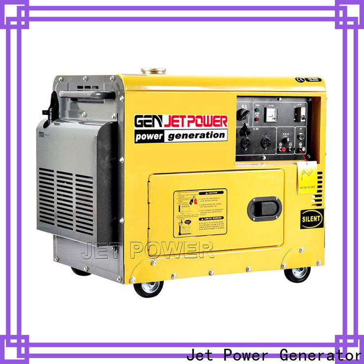 Jet Power factory price air cooled generator set supply for business