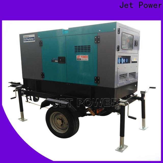 Jet Power wholesale trailer diesel generator company for business