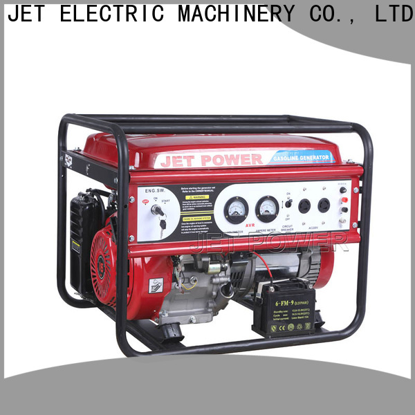 Jet Power portable gasoline generator suppliers for electrical power