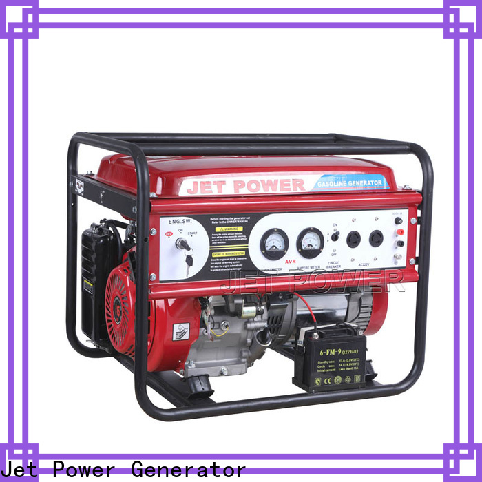 Jet Power hot sale petrol generators manufacturers for electrical power