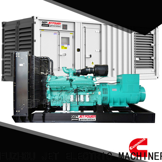 Jet Power water cooled generator suppliers for electrical power