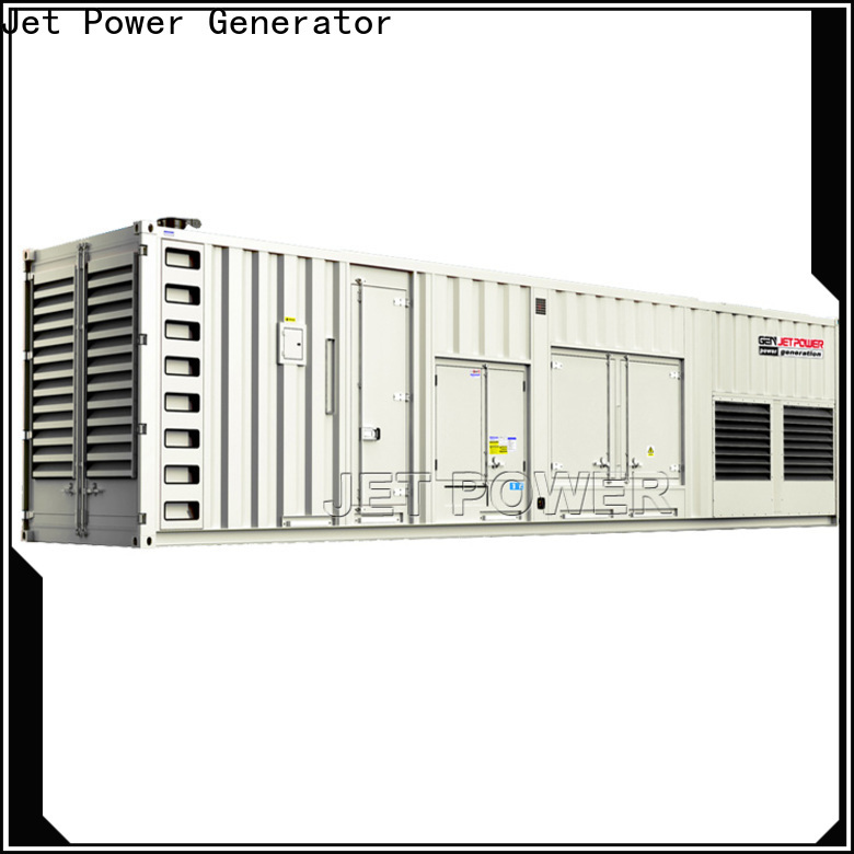 Jet Power high-quality containerised generator set supply for electrical power
