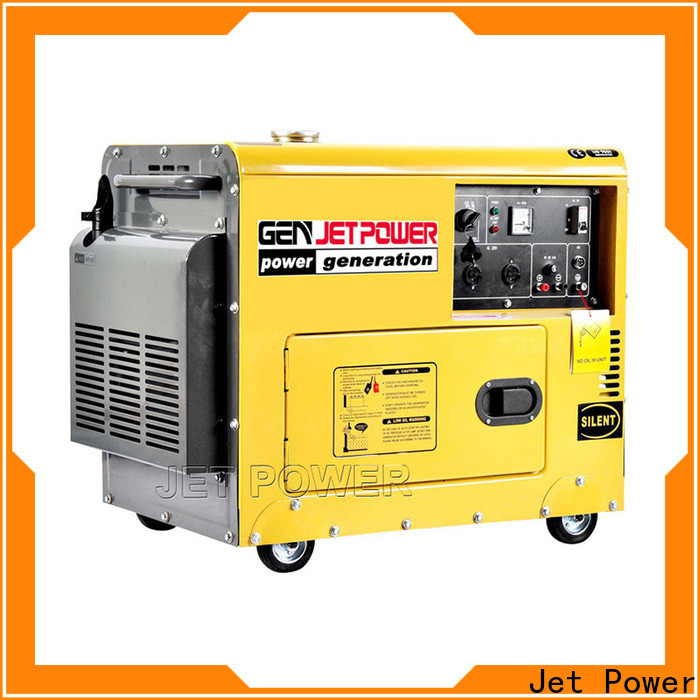 Jet Power air cooled diesel generator set suppliers for electrical power