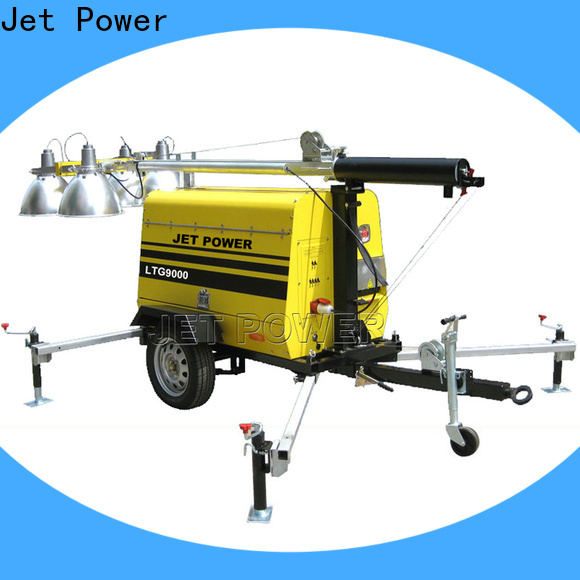 Jet Power light tower generators supply for business