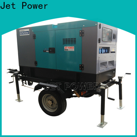 Jet Power high-quality trailer diesel generator manufacturers for business