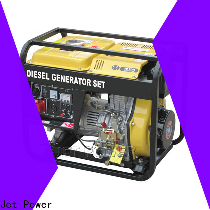 Jet Power latest air cooled generator set company for electrical power