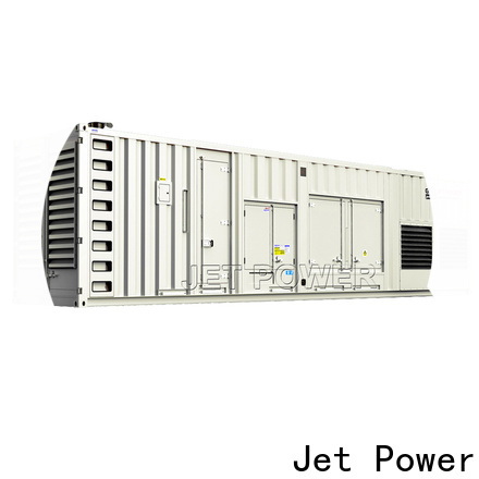 Jet Power containerized generator supply for electrical power