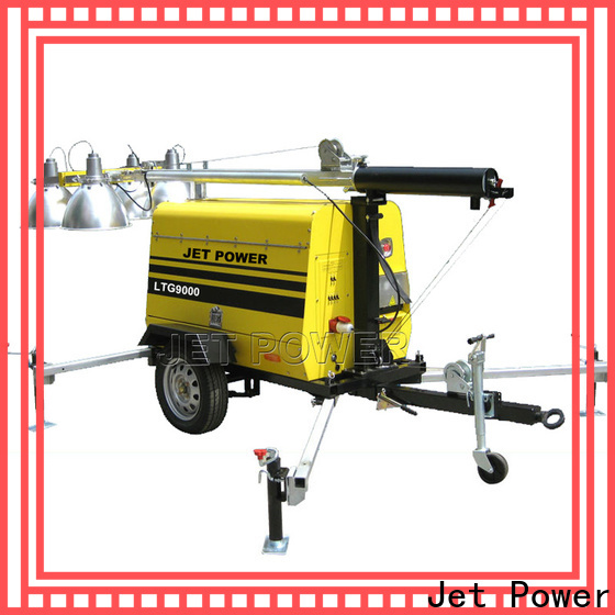 Jet Power portable light tower generator manufacturers for sale