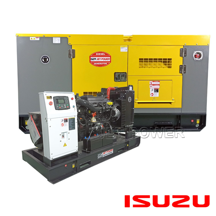 Best Water Cooled ISUZU Diesel Generator Set Wholesale Supply