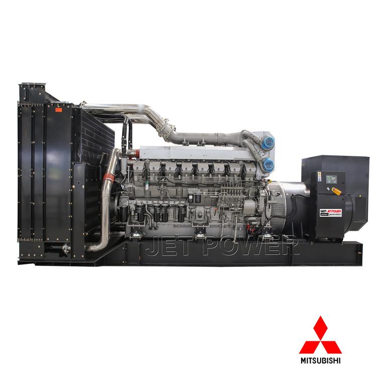 Soundproof Water Cooled MITSUBISHI Diesel Generator Set