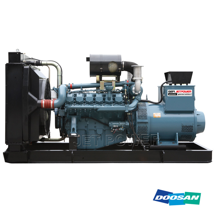 Wholesale Water Cooled Doosan Diesel Generator Set Manufacture