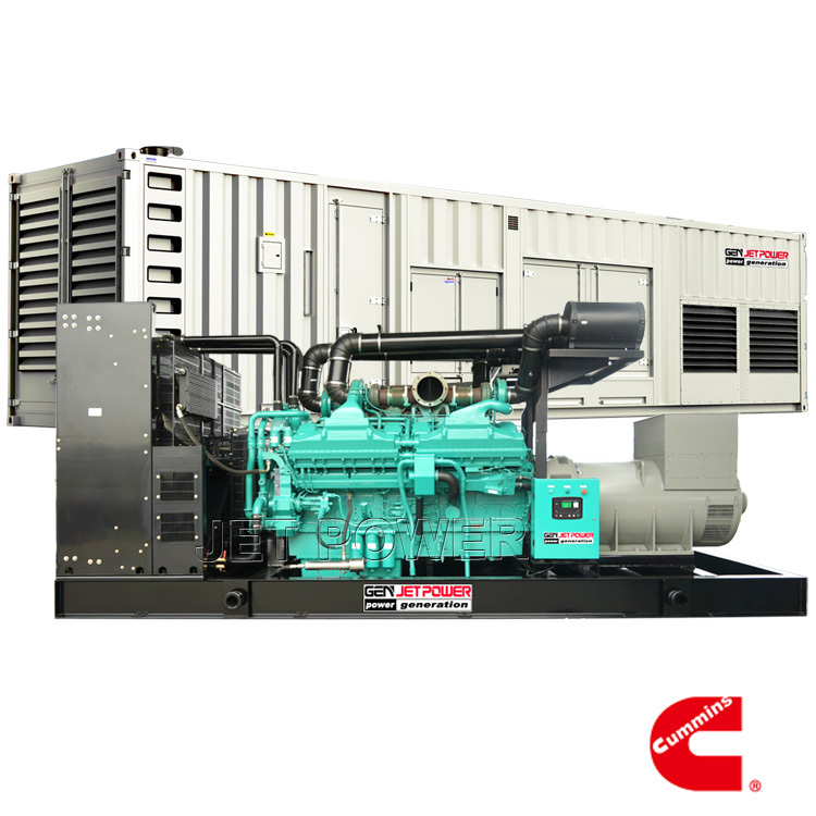 50Hz Water Cooled Cummins Diesel Generator Set Supply