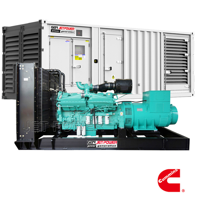 60Hz Cummins Water Cooled Diesel Generator Set Supply
