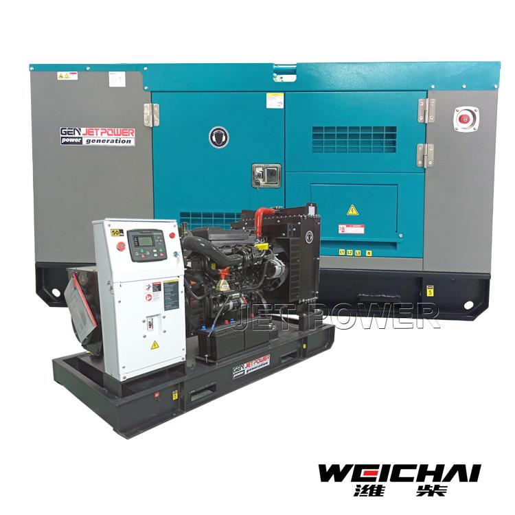 WEICHAI Water Cooled Diesel Generator Wholesale Supply