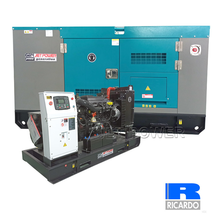 Electrical Ricardo Water Cooled Diesel Generator Set Supply