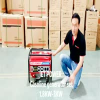 1.8KW to 3.1KW Jet Power Silent Gasoline Generator Set