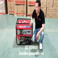 Jet Power Design 4.5KW to 8KW Electric Gasoline Generator Set