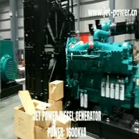 1600KVA Cummins Diesel Generator Set